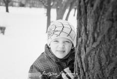 Czarno-biała fotografia analogowa