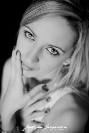 Kobieca portretowa sesja zdjęciowa