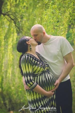 Plenerowa sesja ciążowa