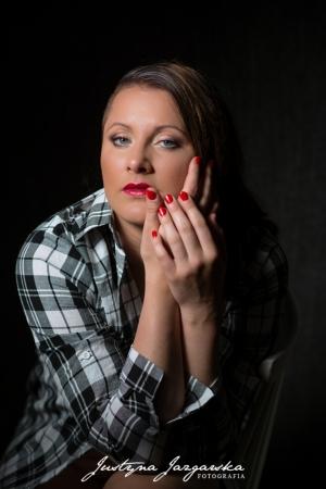 Kobieca sesja fotograficzna