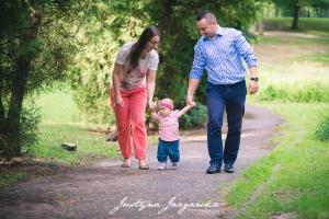 Plenerowa rodzinna sesja zdjęciowa